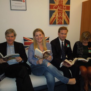 Emma meeting Booksellers Association in Brussels (December 2015)