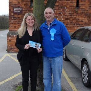 Campaigning in Barham, Lincoln