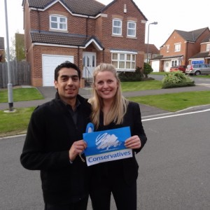Campaigning in Lincoln