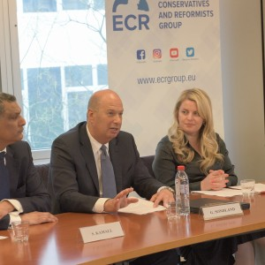 ECR event on EU-US trade relations with US Ambassador Gordon Sondland (April 2019)