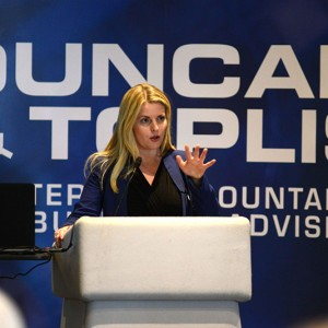 Emma's visit to the Duncan and Toplis Accountants event 'Is the EU Open for Business?' at Belton Woods Hotel, Grantham.
