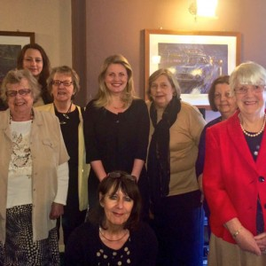 Emma with Lincolnshire Conservative Women's Organisation