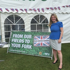 Emma at Lincolnshire Show