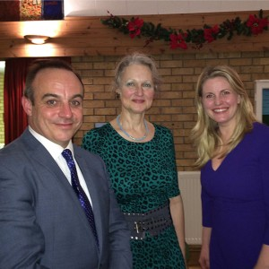 Leadenham Supper with Stephen Phillips-MP