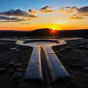 Mam Tor Trig Point, Castleton, Derbyshire, by Photo Competition winner Martin Hollingworth