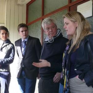 Emma at Ollerton Football Club