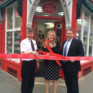 Opening the Lincoln Minister Post-office