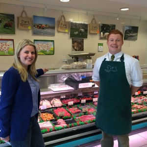 Visiting butchers in Bakewell
