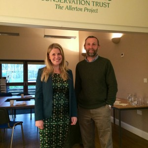Visiting the Game & Wildlife conservation trust project in Loddington