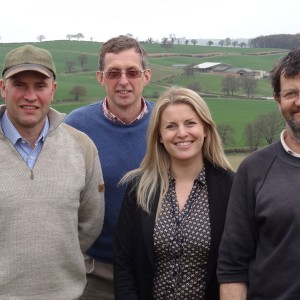 Woodborough Park Farm visit with NFU