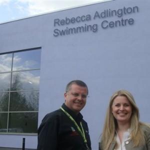at the Rebecca Adlington Swimming Centre, Mansfield