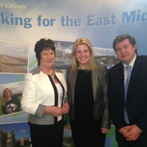Emma with Pauline Latham and Andrew Lewer